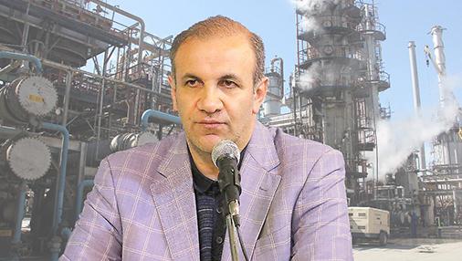 مهندس اسحاقی مدیر عامل شرکت نفت ایرانول: