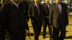 حضور دکتر ربیعی در جمع کارگران شرکت نفت ایرانول همزمان با تحویل سال نو
