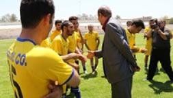 پیروزی پرگل تیم فوتبال ایرانول در مقابل قلم ورزش